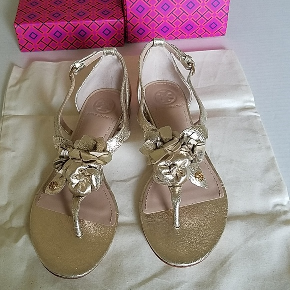 Tory Burch Shoes - Tory Burch Leather Thong Sandals